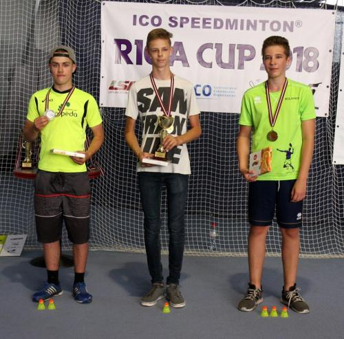 ICO SPEEDMINTON RIGA CUP 2018
